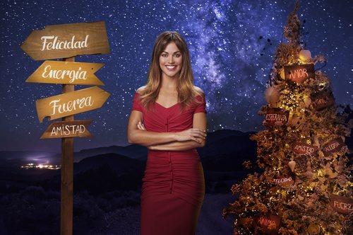 Lara Álvarez, presentadora de las Campanadas 2018-2019 de Mediaset