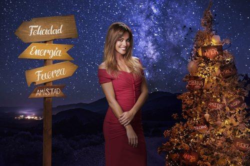 Lara Álvarez, en una estampa navideña