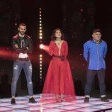 Miriam, Koala y Suso, los tres finalistas en la Gala final de 'GH VIP 6'