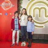 Los tres primeros aspirantes de 'MasterChef Junior 6'