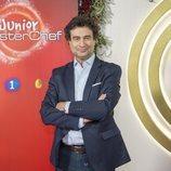 Pepe Rodríguez en la presentación de 'MasterChef Junior 6'