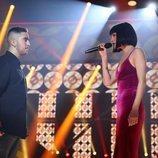 Natalia y Beret cantando en la Gala de Navidad de 'OT 2018'