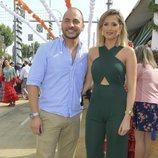 Antonio Tejado y su novia Candela Acevedo