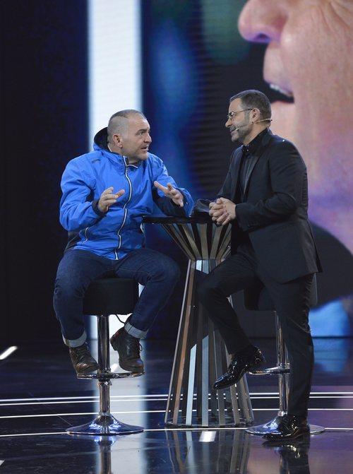 El Koala, tercer finalista de 'GH VIP 6', junto a Jorge Javier Vázquez en el plató