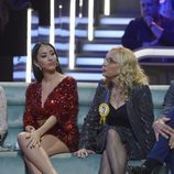 Aurah Ruiz junto a la madre de Suso en el plató de la final de 'GH VIP 6'