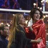 Miriam Saavedra junto a su madre tras ganar 'GH VIP 6'