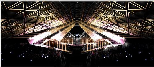 Diseño del escenario de Eurovisión 2019