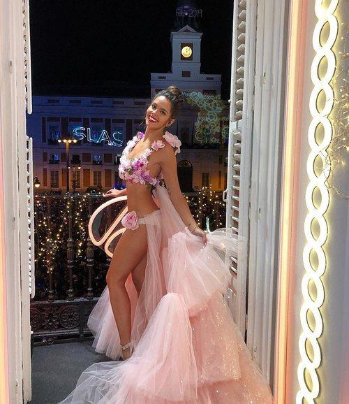 El vestido de Cristina Pedroche para las Campanadas 2018-2019
