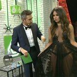 Frank Blanco y Cristina Pedroche en las Campanadas 2014-2015 de laSexta