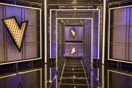 Pasillos del nuevo plató de 'La Voz' en Antena 3