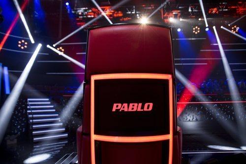 Sillón de coach de Pablo López en 'La Voz'