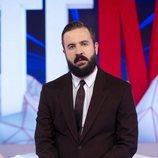 Antonio Castelo en el plató de 'Todo es mentira'