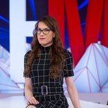 Elsa Ruiz, en el plató de 'Todo es mentira'