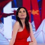 Marta Flich posa en el plató de 'Todo es mentira'