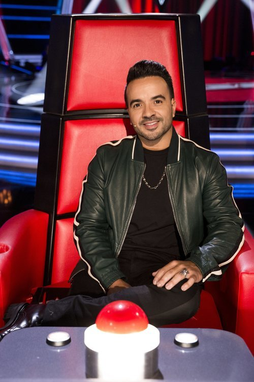 Luis Fonsi en su sillón de coach en 'La Voz'