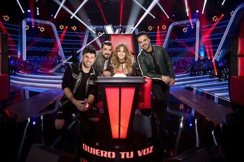 Coaches de 'La Voz' en la primera edición del talent en Antena 3