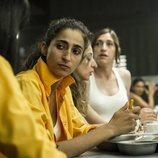 Saray Vargas en el comedor de 'Vis a vis'