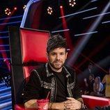 Pablo López posa como coach de 'La Voz'