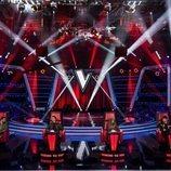 Los coaches de 'La Voz' esperan en sus sillones