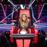 Paulina Rubio, desafiante en su sillón de coach de 'La Voz'