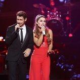 Ariana Grande y Michael Bublé están en el Concierto Fin de Año de 'Tu cara me suena'