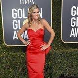 Missi Pyle en la alfombra roja de los Globos de Oro 2019