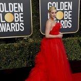 Lili Reinhart en la alfombra roja de los Globos de Oro 2019