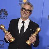 Alfonso Cuarón, ganador del Globo de Oro 2019 a Mejor Director y Mejor Película de Habla no inglesa