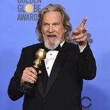 Jeff Bridges, ganador del Cecil B. DeMille en los Globos de Oro 2019