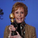 Carol Burnett, ganadora del Carol Burnett en los Globos de Oro 2019