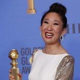 Sandra Oh, ganadora del Globo de Oro 2019 a Mejor Actriz de Drama