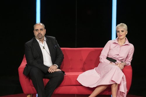 María Jesús Ruíz y Julio Ruz, tensos en la gala 1 de 'GH Dúo'