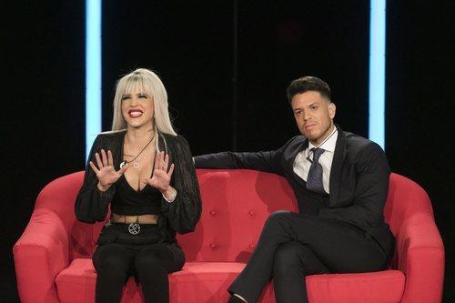 Ylenia y Fede Rebecchi en la gala 1 de 'GH Dúo'