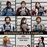 Cartel de la segunda temporada de 'Benvinguts a la família'