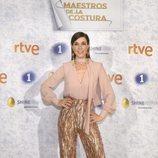 Raquel Sánchez Silva posa para presentar 'Maestros de la costura' en su segunda edicion