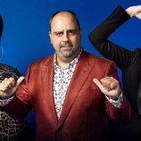 Posado del trío de Carolina Sobe, Julio Ruz y María Jesús Ruiz en 'GH Dúo'