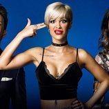 Posado del trío de Ylenia, Fede y Raquel Martín en 'GH Dúo'