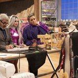 Mahi en su visita a la segunda edición de 'Maestros de la costura'