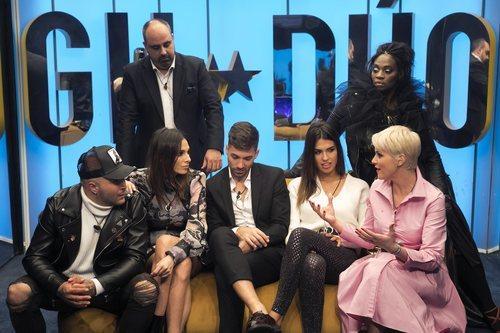 Los concursantes de 'GH Dúo' en la gala 1 de la edición