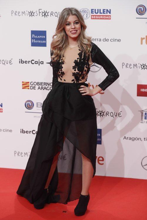 Nerea Rodríguez, en la celebración de los Premios Forqué 2019