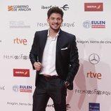 Carlos Right, concursante de 'OT 2018' en los Premios Forqué 2019 de Zaragoza