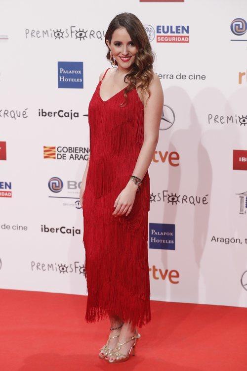 Marilia, concursante de 'OT 2018' en los Premios Forqué 2019