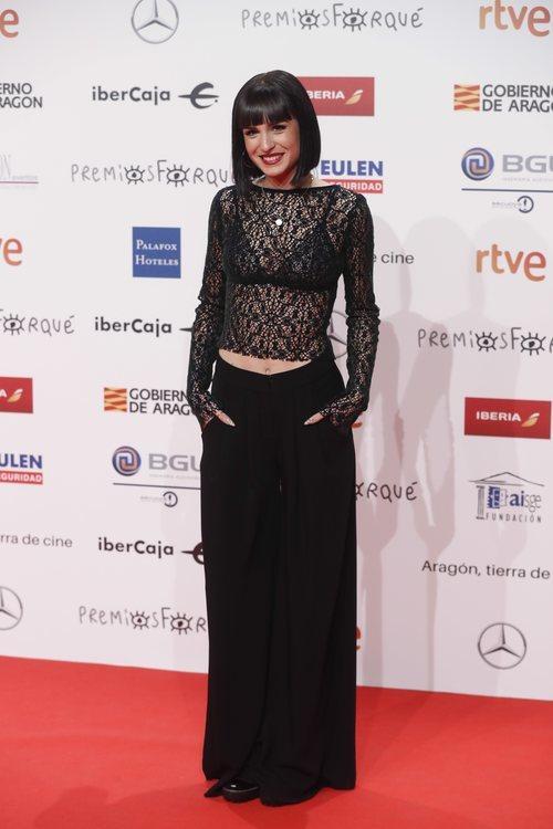 Natalia Lacunza, finalista de 'OT 2018' en los Premios Forqué 2019