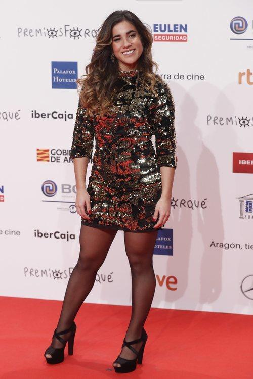 Julia, concursante de 'OT 2018' en los Premios Forqué 2019