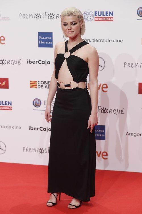 Alba Reche, finalista de 'OT 2018' en los Premios Forqué 2019