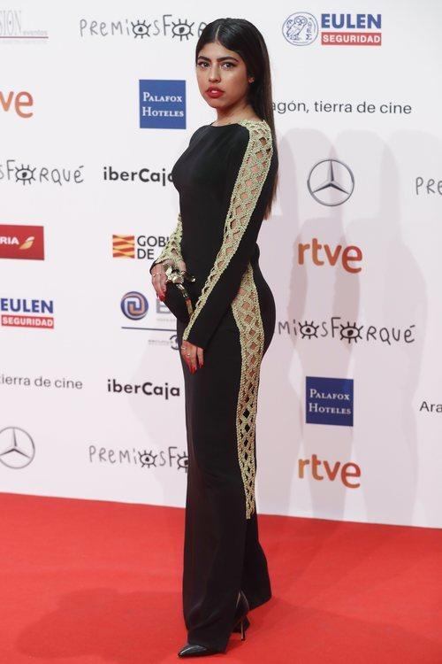África, concursante de 'OT 2018' en los Premios Forqué 2019