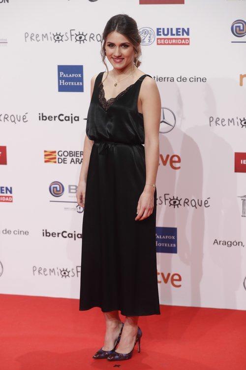 Sabela, concursante de 'OT 2018' en los Premios Forqué 2019