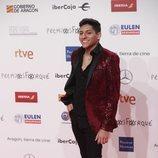 Alfonso, concursante de 'OT 2018' en los Premios Forqué 2019