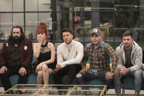 Algunos de los concursantes de 'GH Dúo' en la Gala 2 de la edición