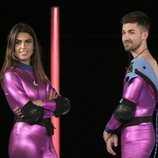 Sofía Suescun y Alejandro Albalá enfrentados en la gala 2 de 'GH Dúo'